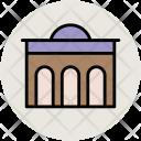 Building Historic Memorial Icon
