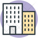 Building Hotel Residential Icon