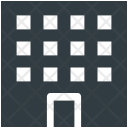 Building Apartments Flats Icon