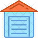 Building Farmhouse Storehouse Icon