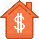 Building Dollar House Icon