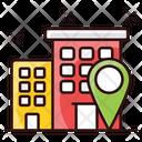 Building Address Market Location Market Address Icon