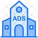 Building Advertising Office Advertising Office Icon