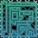 Building Blueprint Icon