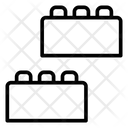 Blocks Building Background Icon