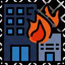 Building Burning Icon