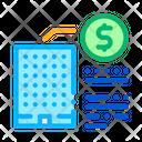Building Cost Bim Icon