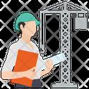 Building Engineer Site Engineer Construction Engineer Icon