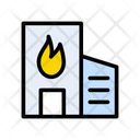 Building Fire Icon
