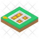 Building Foundation Building Base House Foundation Icon