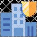 Iinsurance Building Building Insurance Building Icon