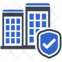 Building Protection Security Icon