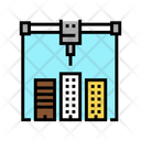 Building Layout Printer Icon