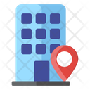 Hotel Location Store Location Building Location Icon