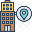 Local Maps Localization Icon