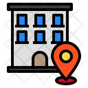 Building Pin Locations Icon