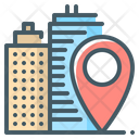 Manufacturer Location Navigation Icon