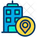 Location Pointer Building Pointer Icon