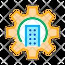 Smart House Mechanical Icon