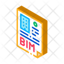 Building Report Information Modeling Building Information Modelling Icon