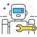 Building Robots Making Robots Robots Icon