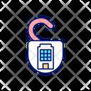 Building Security Measures Icon