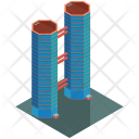 Tower Skyscraper Bridge Icon