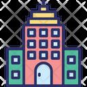 Arcade Building Front Condominium Icon