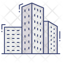 Buildings Office Block Icon