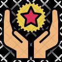 Motivation Built Star Icon