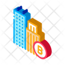 Built Residential Buildings Icon