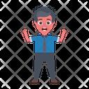 Boy Employee Business Icon