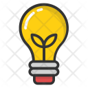 Light Bulb Led Icon