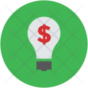 Bulb Money Making Icon