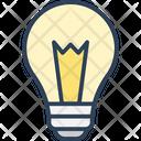 Bulb Electric Bulb Illumination Icon