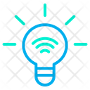 Smart Bulb Automation Internet Of Things Icon