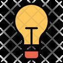 Idea Light Bulb Off Bulb Icon