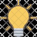 Bulb Light Bulb Luminaire Icon