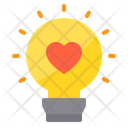Bulb Light Love Bulb Love Bulb Icon