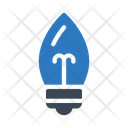 Bulb Light Decoration Icon