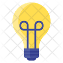Electric Bulb Lamp Light Bulb Icon