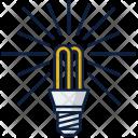 Bulb Lamp Idea Icon
