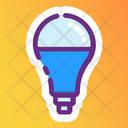 Bulb Luminous Electric Light Icon