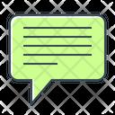 Bulb Comment Communication Icon