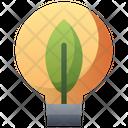 Bulb Eco Light Bulb Icon