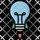 Bulb Business Idea Business Innovation Icon