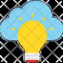 Bulb Campaign Cloud Creative Icon
