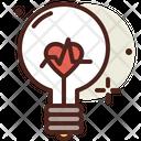 Bulb Love Bulb Love Energy Icon