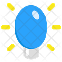 Bulb Light Xmas Icon
