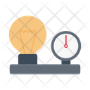 Bulb Electricity Current Icon